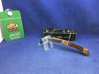 1997 Vintage Puma 960 Cub Knife Jacaranda Wood Handles  Mint In Box #86