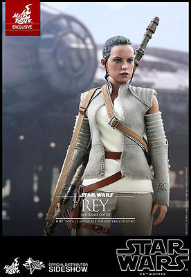 REY resistance outfit HOT TOYS 1/6 Star Wars Force Awakens Daisy Ridley IN STOCK