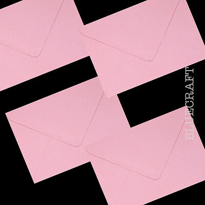 C7 Pastel Pink Envelopes 100gsm - All Quantities