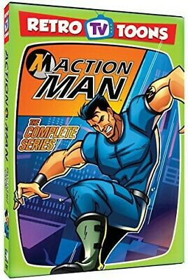 Action Man: The Complete Series (DVD, 2015, 2-Disc Set)  RETRO TV TOONS