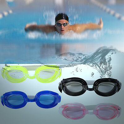 Adult Kids Anti-fog Waterproof UV Protection Adjustable Swimming Goggles Glasses