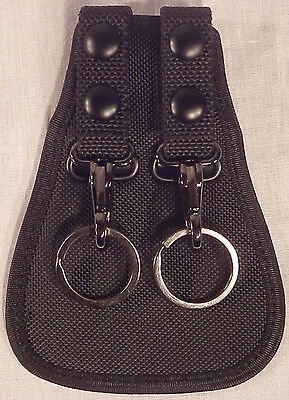 "Key Holder Double Scabbard Ballistic Duty Gear #1113 fits 2 1/4""/2.25"" belt"