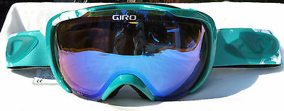 $150 Womens Green Giro Field Red Winter Ski Goggles Ladies Smith Carl Zeiss Lens