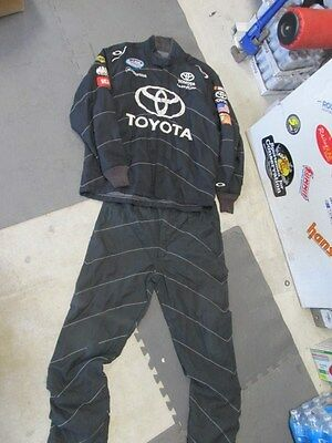 Nascar Race Used Crew Suit 2 Pc Sfi 3/2A-5 Oakley Nationwide Series (#105)