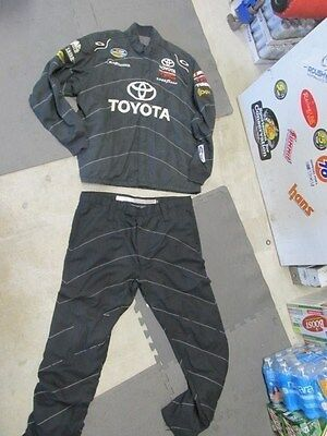 Nascar Race Used Crew Suit 2 Pc Sfi 3/2A-5 Oakley Nationwide Series (#108)