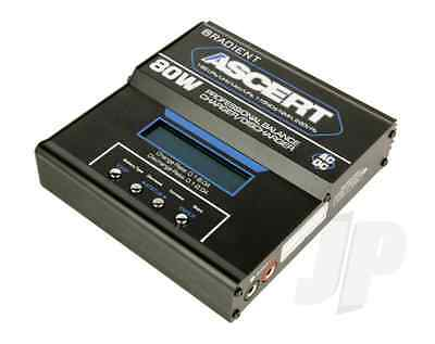Radient RDNA0371 Ascert 80W LCD Charger (UK) for Nimh/Lipo