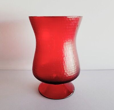 Charmed Tv Show Props Red Glass Pedestal Candleholder Attic Potion Table