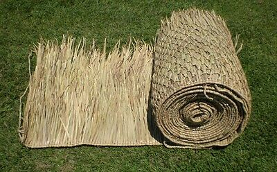 "Tiki Bar Palapa Palm Grass Thatch 36"" X 60Ft Roll Runner Double Pack"