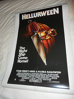 Tyler Perry BOO! A MADEA HALLOWEEN movie poster one sheet DS 27x40 Michael Myers
