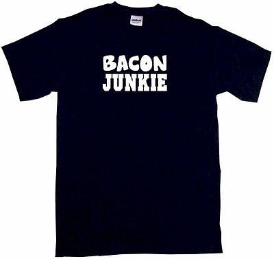 Bacon Junkie Kids Tee Shirt Boys Girls Unisex 2T-XL