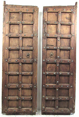 Pair of Vintage Castle/Dungeon Doors (9428)NJ