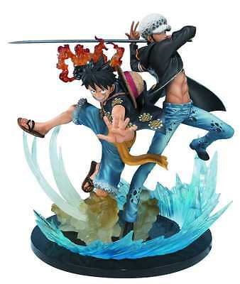 BANDAI ONE PIECE MONKEY & TRAFALGAR FIGUARTS ZERO 5TH ANN VERSION #sjul16-304