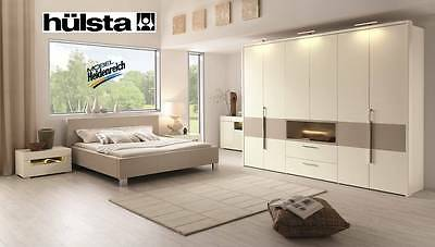 ausstellungsst cke h lsta schlafzimmer modell gentis incl kleiderschrank eur. Black Bedroom Furniture Sets. Home Design Ideas