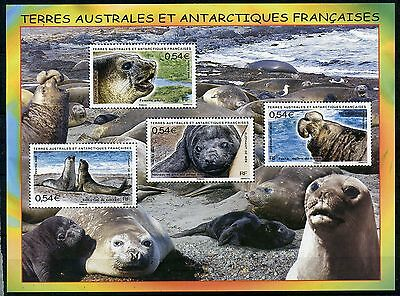 Stamp / Timbre T.a.a.f. Terres Australes Neuf Bloc N° 19 ** Faune