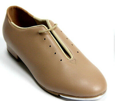 New Tap Shoes Full Sole  Beginners TA05 Caramel or Black  Color Lace Up