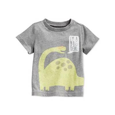 NWT First Impressions Baby Boys' Dino Tee Size 12 Months