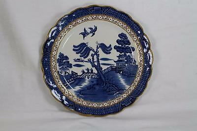 "Booths Real Old Willow, 8 3/8"" Salad Plate, Mint"