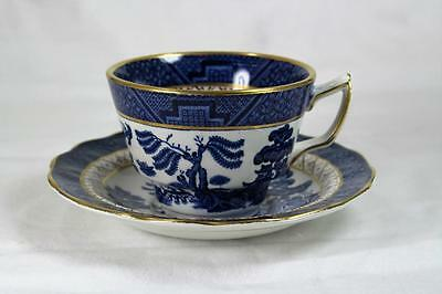 Booths Real Old Willow, Teacup & Saucer