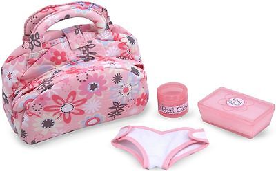 Melissa & Doug DOLL DIAPER CHANGING SET Pretend Play Nappy Bag Child/Kid - BN