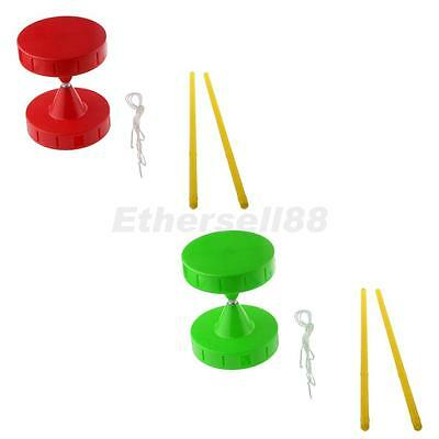 Professional Small Whistle Diabolo Handsticks & String Juggling Spinning Toys