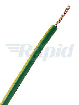 Unistrand Control Switchgear Wire Tri-Rated Green/Yellow 2.5mm 100m