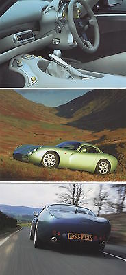 TVR Tuscan Speed Six Official Factory Promotional Cards x 8
