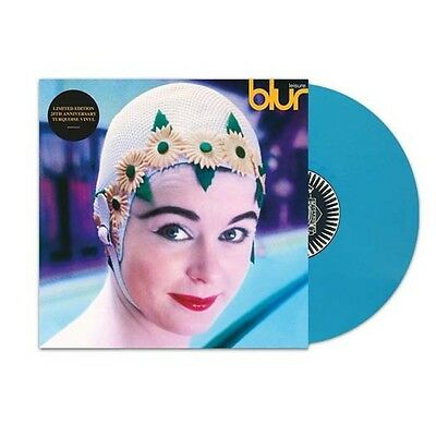 "BLUR Leisure 25th Anniversary Turquoise 12"" LP Vinyl NEW"