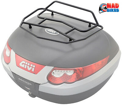 Givi E96 Metal Top Rack For Givi Motorcycle Motorbike Top Boxes E52 & E55 (E96B)