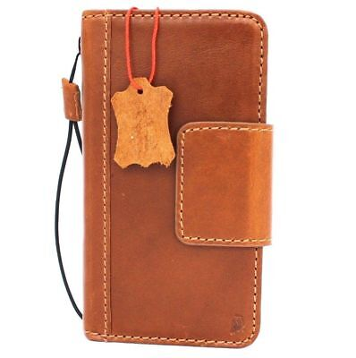 Genuine Leather Case for Samsung Galaxy S7 active Credit Cards slots Magnetic