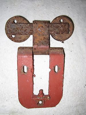 Antique Vintage Barn Door Trolley Track Roller
