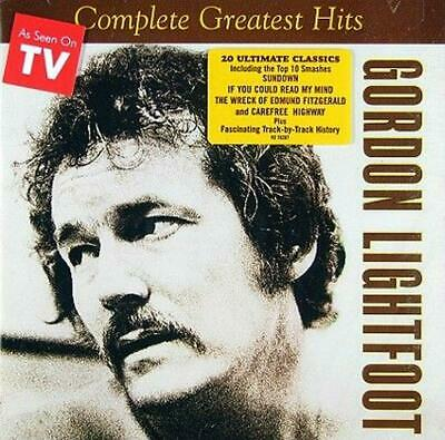 Complete Greatest Hits - Gordon Lightfoot Compact Disc Free Shipping!