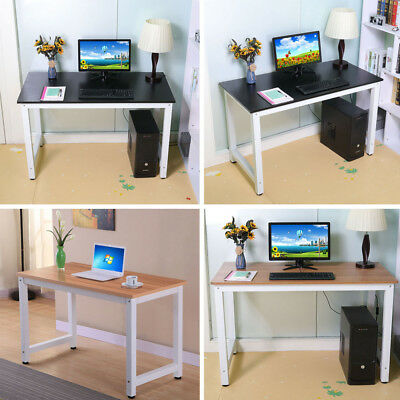 Wood Computer Desk PC Laptop Study Table Workstation Home Office Furniture