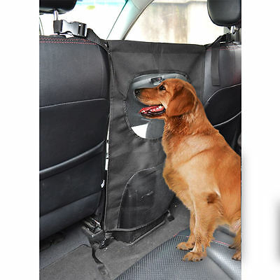 Universal Pet Barrier Mesh Car Suv Dog Safety Auto Travel Back Seat Barrier SUV