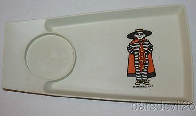 "Vintage 1970's MCDONALD'S ""Hamburglar"" Food Beverage Tray"
