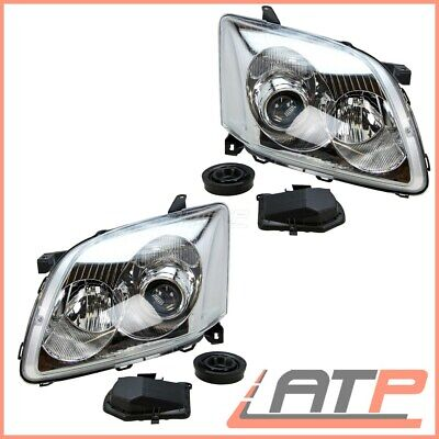 2X Headlamp Headlight H7/h1 Left+Right Toyota Avensis T25 03-06