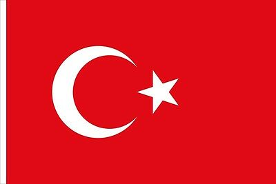 TURKEY FLAG 3FT X 5FT FLAGS TURKISH 90x150cm Hanging National flag Home Decor