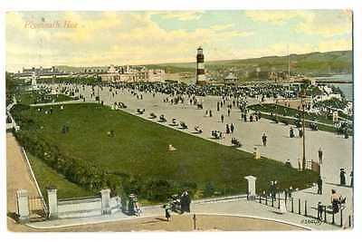 UK Town View Plymouth Hoe PC 1912