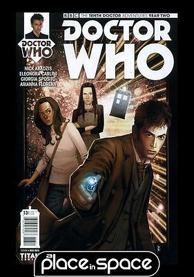 Doctor Who: The Tenth Doctor Adventures: Year Two #13A (Wk32)