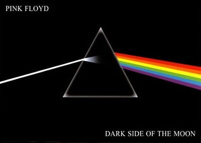 """Pink Floyd - Dark Side of the Moon - Poster 55"""" x 40"""""""