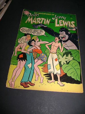 1955 The Adventures Of Dean Martin And Jerry Lewis #19 Gorilla !