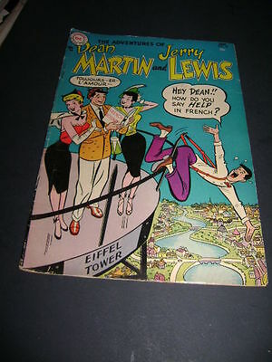 1955 The Adventures Of Dean Martin And Jerry Lewis #18 Eiffel Tower France