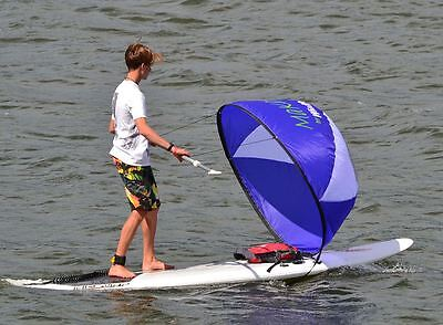 Windpaddle SUP Sail - Stand Up Padlle Board Wind Sail - Fun, Cruise, River, Sea
