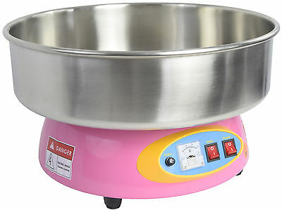Electric Commercial Cotton Candy Machine Floss Maker Pink 1080W from VIVO