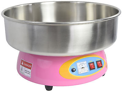 VIVO Electric Commercial Cotton Candy Machine Floss Maker Pink 1080W CANDY-V004