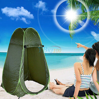 UK Stock Portable Outdoor Pop Tent Camping Hiking Shower Privacy Changing Room