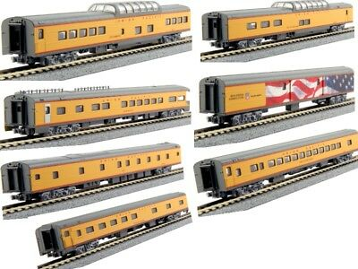 Kato 106-086 N Scale Union Pacific Excursion Train 7-Car Set RTR