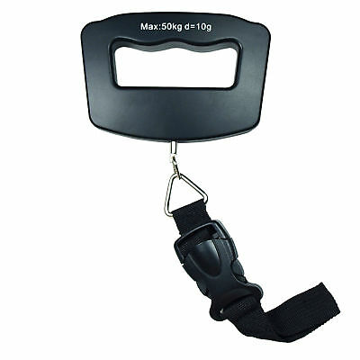 50kg /110 lb x 10g Digital Travel luggage Scale Hanging Scale with Strap