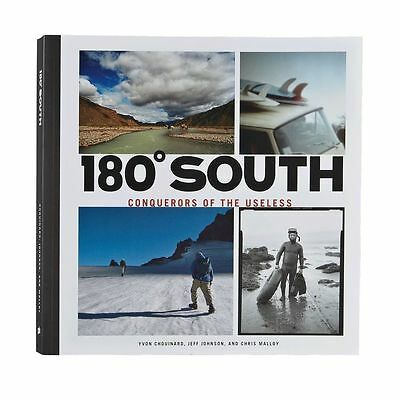 180 South: Conquerors of the Useless Hardcover 237 page surf journey RARE NEW