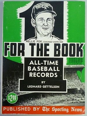 1961 One For The Book Published By The Sporting News
