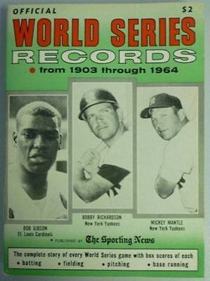 1964 Official World Series Records By The Sporting News